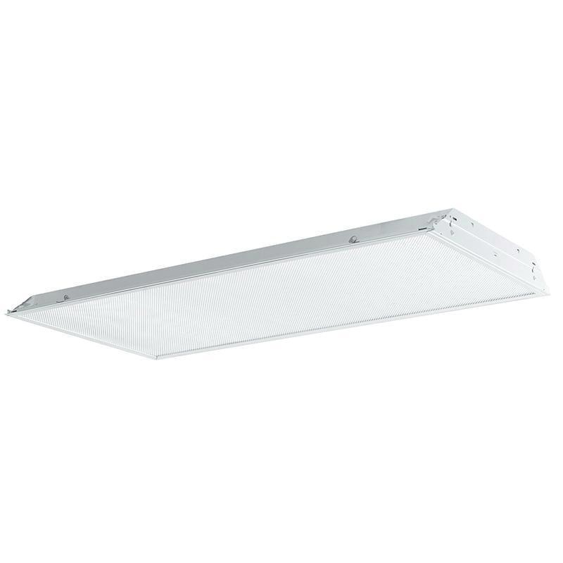 Philips Lighting 2TG8332-01-UNV-1/3-EB 3-Light Recessed Mount TG8 Fluorescent Lensed Troffer 32 Watt 120 - 277 Volt High Reflectance Baked White Enamel Daybrite