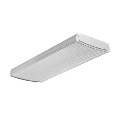 Lithonia Lighting LBL2-LP840 2-Light Surface Mount LB Series LED Wraparound Fixture 23 Watt 120 - 277 Volt high-Reflectivity Baked White Polyester Enamel