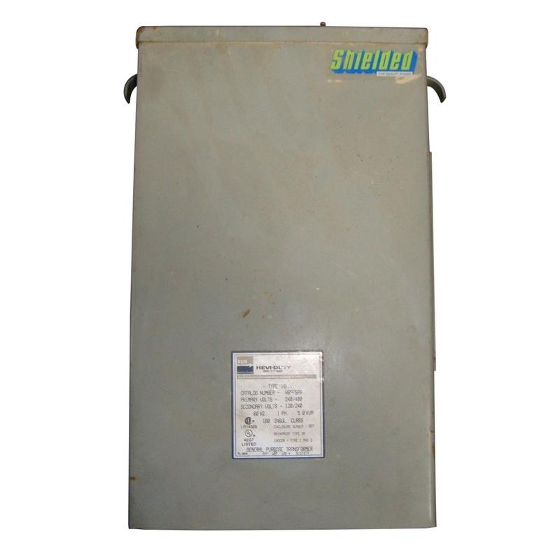 Emerson Hs5f3as 1 Phase Aluminum Non Ventilated Encapsulated Automation Transformer 240 480