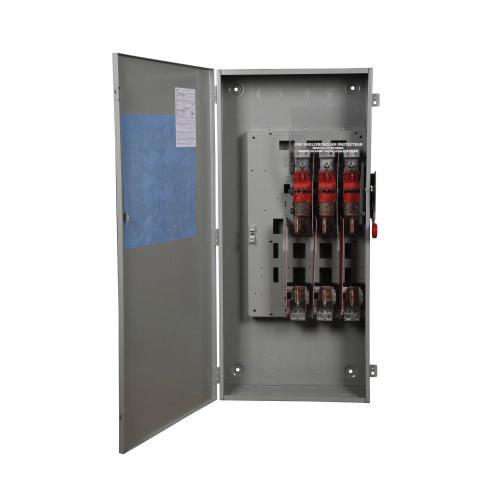 Eaton DH366FGK 3 Wire 3 Pole Fusible K Series Heavy-Duty Safety Switch 600 Volt AC 600 Amp NEMA 1