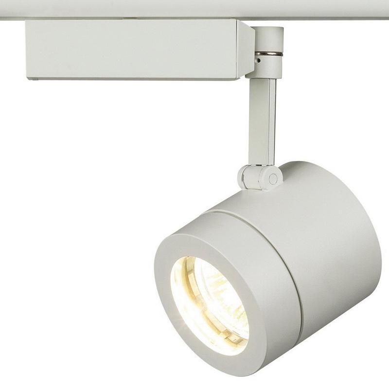 Lightolier 22mc6wh Cylinder Track Light 50 Watt 12 Volt Matte White Lytespan Alcyon
