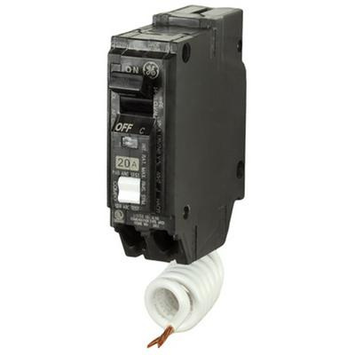GE Industrial THQL1115AF2 Plug-In Mount Type THQL Feeder Arc Fault Circuit Interrupter 1-Pole 15 Amp 120/240 Volt AC