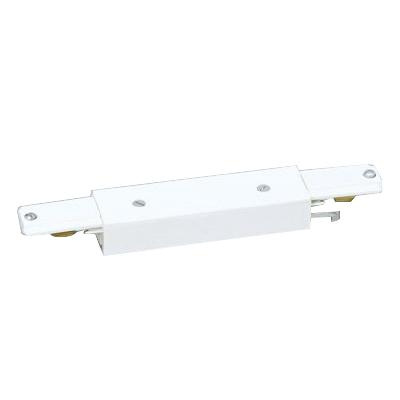 Lightolier 6054nwh In Line Connector Matte White For Use