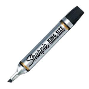 Lenox Tools 15001SH King Size Permanent Marker Black Sharpie