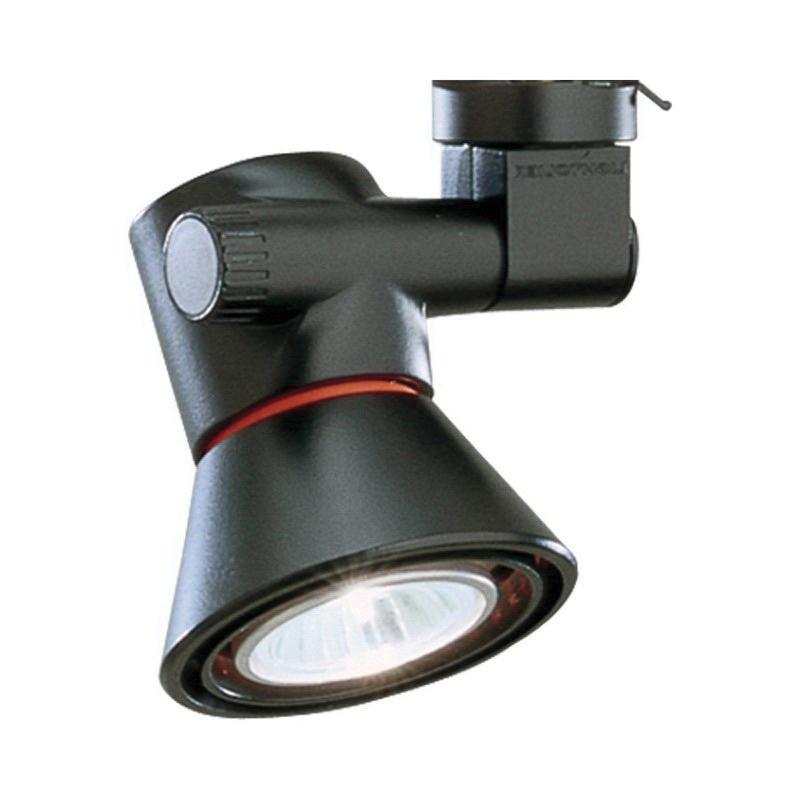 Lightolier 8201BK Low Profile Track Light Matte Black