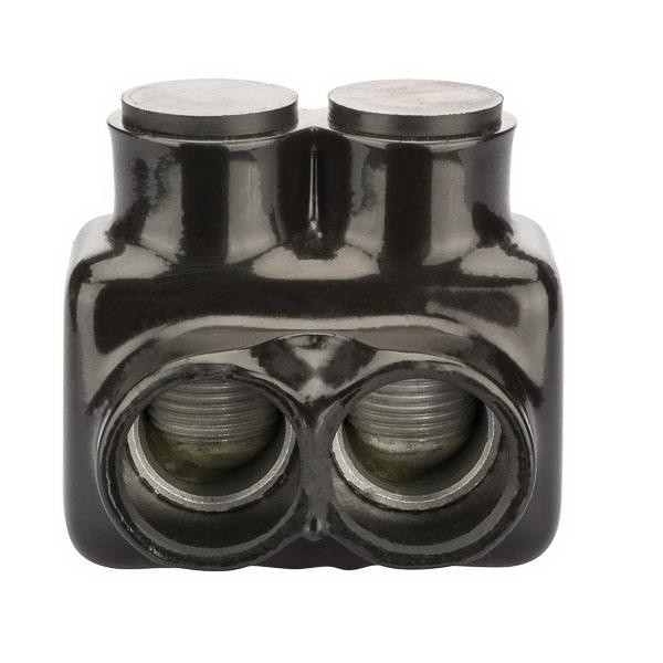 NSI IT-600 Double Sided Insulated Multi-Cable Tap Connector 600 MCM-6 AWG Black Polaris™