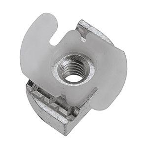 Unistrut P1006T-1420EG Electrogalvanized Mild Steel Top Retainer Nut 1/4 Inch