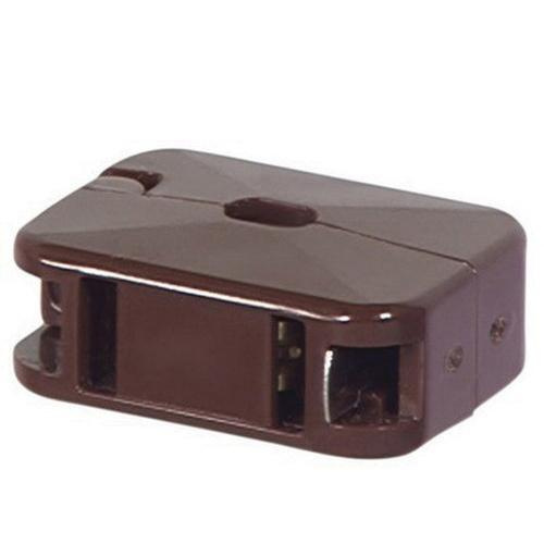 Cooper Wiring Device 2609B-BU 2-Wire 2-Pole Non Grounding In-Line ...