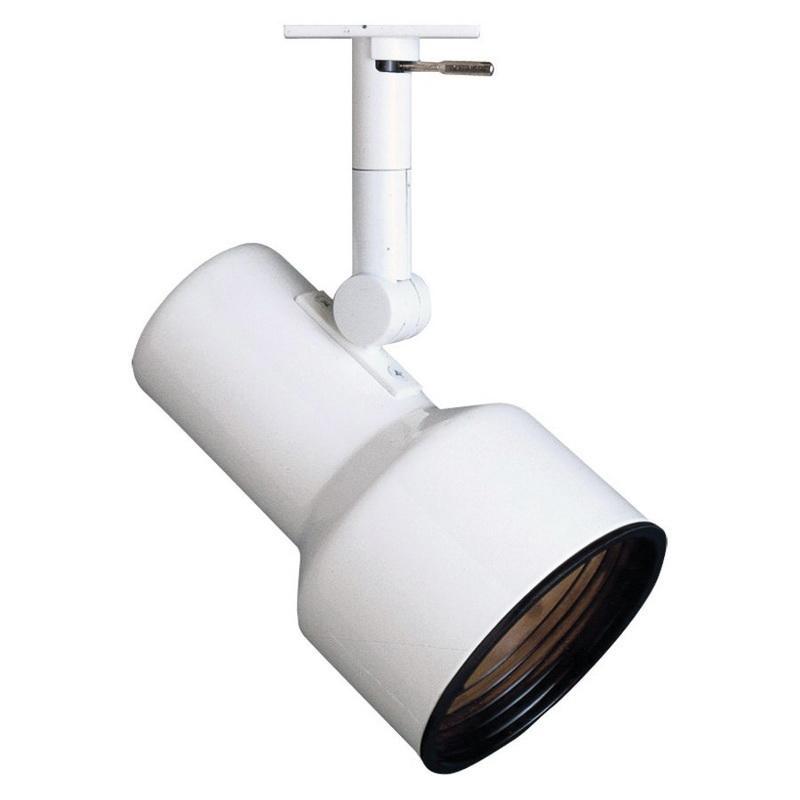 Lightolier 9630wh Clics Step Cylinder Track Light 75 Watt Matte White Lytespan