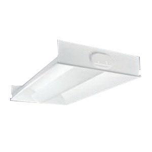 Cooper Lighting 2RDI-332RP-UNV-EB81U 3-Light Ovation Series Recessed Direct/Indirect Luminaire 32 Watt 120 - 277 Volt White Enamel Metalux™