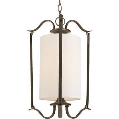 Progress Lighting P3799-20 1-Light Ceiling Mount Pendant Fixture 100 Watt 120 Volt 14-3/4 Inch Antique Bronze Inspire