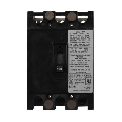 Murray Mbk3100 Qp Main Breaker Kit 240 Volt 100 Amp For: Eaton CC3150X Bolt-On Mount Type CC Molded Case Circuit
