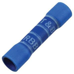 Thomas & Betts 2RB14X Electro Tin Plated Copper Expanded Entry Butt Splice Connector 16-14 AWG Blue Sta-Kon®