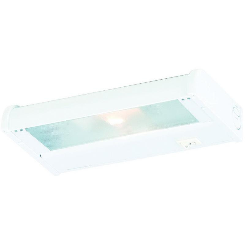 CSL Lighting NCA-LED-8-WT 1-Light Portable/Hardwire Linkable Undercabinet Light Fixture 4.5 Watt 120 Volt 2700K White CounterAttack LED