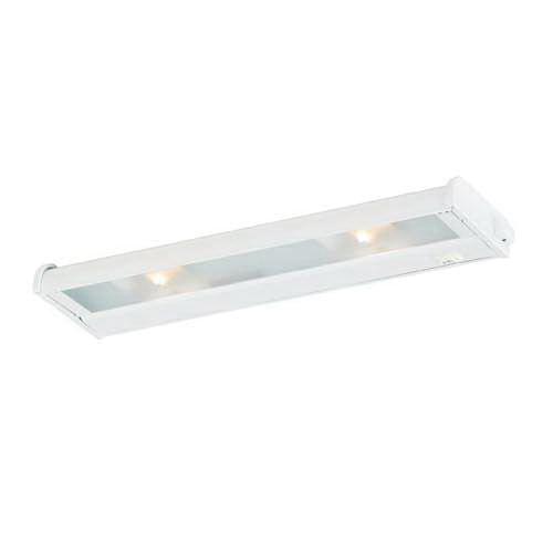 CSL Lighting NCA-LED-16-WT 1-Light Portable/Hardwire Linkable Undercabinet Light Fixture 9 Watt 120 Volt 2700K White CounterAttack LED
