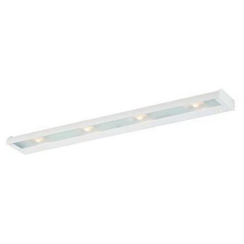 CSL Lighting NCA-LED-24-WT 1-Light Portable/Hardwire Linkable Undercabinet Light Fixture 13.5 Watt 120 Volt 2700K White CounterAttack LED