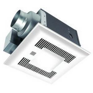 Panasonic FV-08VQCL6 Ventilation Fan With Light 120-Volt 80 CFM at 0 1-Inch  Static Pressure 62 CFM at 0 25-Inch Static Pressure WhisperSense™ Lite