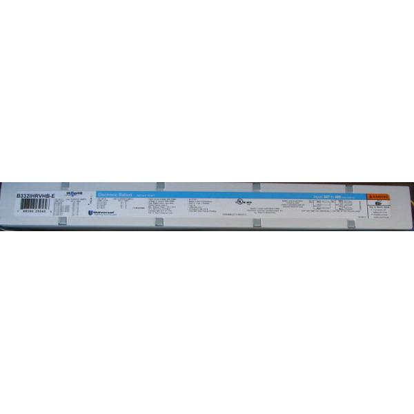 Universal Lighting Technologies B332IHRVHB E010C (3) F32T8 Lamp High  Frequency Electronic Fluorescent Ballast