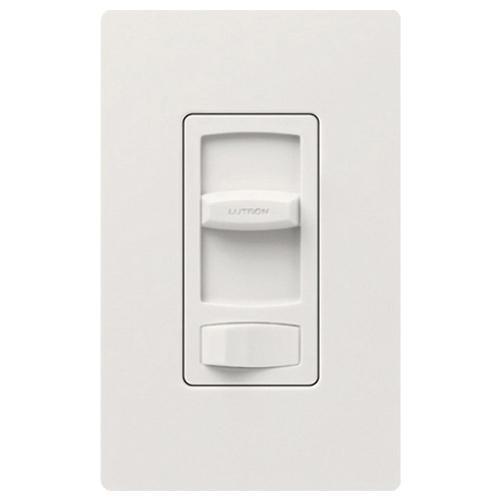 Lutron CTELV-303P-WH 120 Volt AC at 60 Hz 1-Pole 3-Way Electronic Low Voltage Dimmer White Skylark®