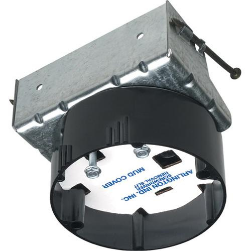 Arlington Fb417s Plastic Ceiling Fan Fixture Mounting Box 3 5 Inch 20 Cubic Inch Ceiling Boxes