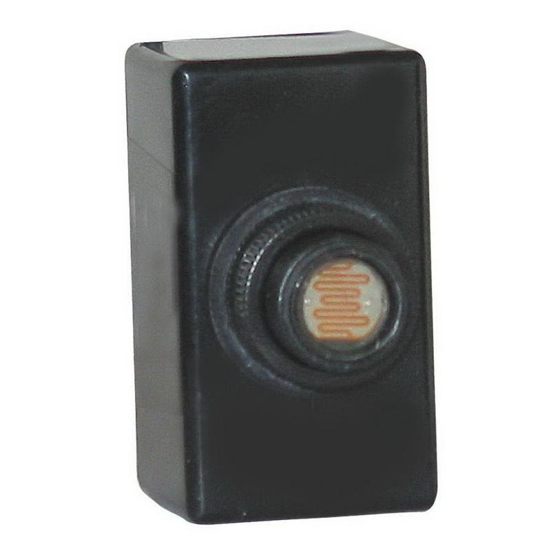 NSI 3002 Thermal Flush Mounting Photocontrol 208 - 277 Volt AC SPST Black Tork®