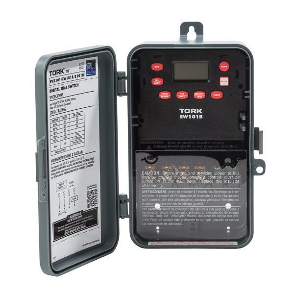 NSI EW101B 1-Channel Digital Timer Switch 120 - 277-Volt ...
