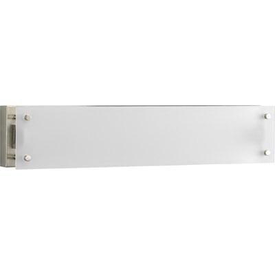 Progress Lighting P7211-09EB 1-Light Bath and Vanity Fixture 17 Watt 120 Volt Brushed Nickel Plated