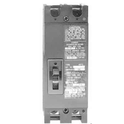 GE Industrial TMQD22100 Bolt-On Mount Type TMQD Molded Case Circuit Breaker 2-Pole 100 Amp 240 Volt AC