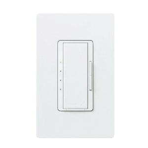 Lutron RRD-2ANF-WH 120 Volt AC at 50/60 Hz 2 Amp 1-Pole 4-Speed Multi-Location Fan Speed Control White RadioRA® 2 Maestro®