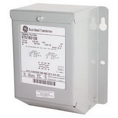 GE Industrial 9T51B0008 1-Phase Copper Type QB General Purpose Encapsulated Dry Type Transformer 240/480 Volt Primary 120/240 Volt Secondary 0.5 KVA
