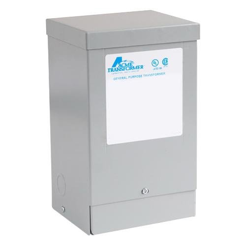 Acme T181058 1 Phase Copper Buck-Boost Transformer 120/240 Volt Primary 16/32 Volt Secondary 0.5 KVA
