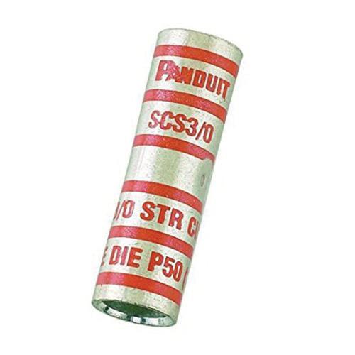 Panduit SCS400-6 Tin Plated Copper Butt Splice Connector 400 KCMIL Blue