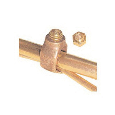 Greaves G5810B Silicon Bronze Breakaway Bolt Ground Rod Clamp 5/8-Inch  Ground Rod 1/0-8-AWG