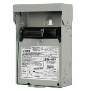 Milbank U3802 2 Pole 1 Phase Non Fusible Air Conditioner Disconnect