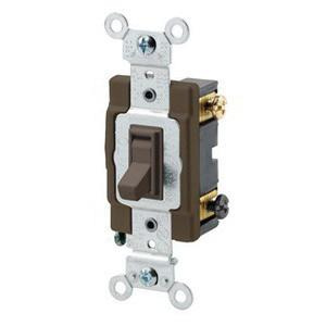 Leviton 54523-2 120/277-Volt AC 20-Amp 3-Way Commercial/Specification on