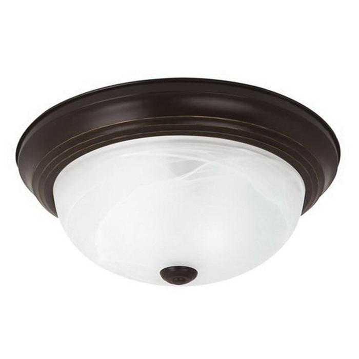 Sea Gull Lighting 75943-782 3-Light Flush Mount Ceiling Fixture 60 ...