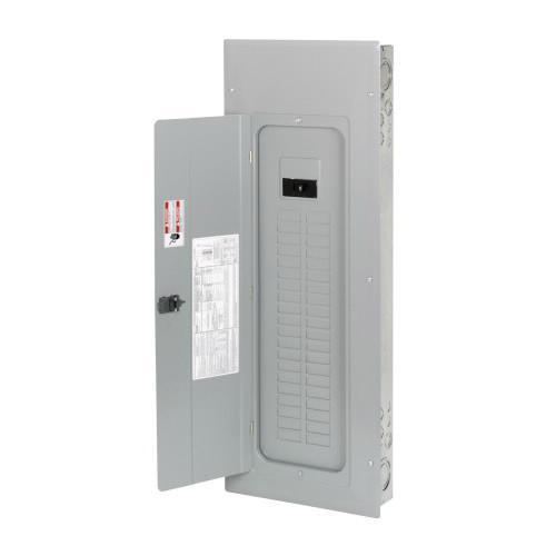 Eaton BR4040B200 1-Phase 3 Wire Main Circuit Breaker Load Center 40 Circuits 120/240 Volt AC 200 Amp NEMA 1