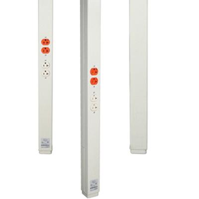 Wiremold SPL25DTCWH Power Pole - Power Column & Poles