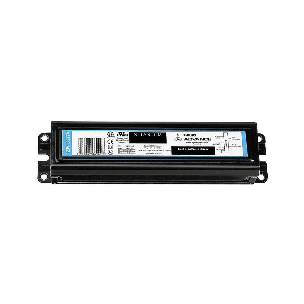 Philips Advance LEDINTA0350C425FOM LED Driver 120 - 277 Volt AC Input 120 - 425 Volt DC Output 40 - 150 Watt Output Xitanium