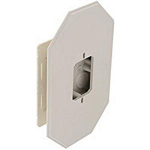 Arlington 8081FDBL Plastic Vertical Mount All Siding Box Kit With Flange  6 65-Inch x 1 04-Inch x 10 5-Inch