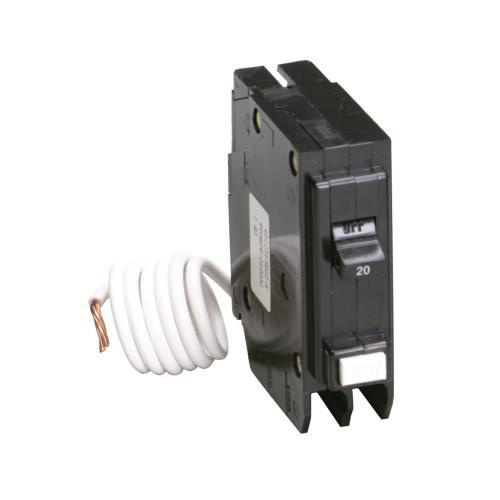 Eaton GFCB120 Plug-On Mount Type GFCB Ground Fault Circuit Breaker 1-Pole 20 Amp 120 Volt AC