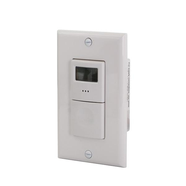 Nsi Ss403 120 230 277 Volt Ac At 50 60 Hz 15 Amp 1 Pole 3 Way Auto Off In Wall Digital Timer Switch White Tork