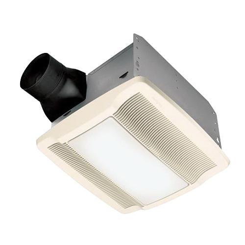 Nutone QTRN110L Ventilation Fan With Light 110 CFM at 0 1