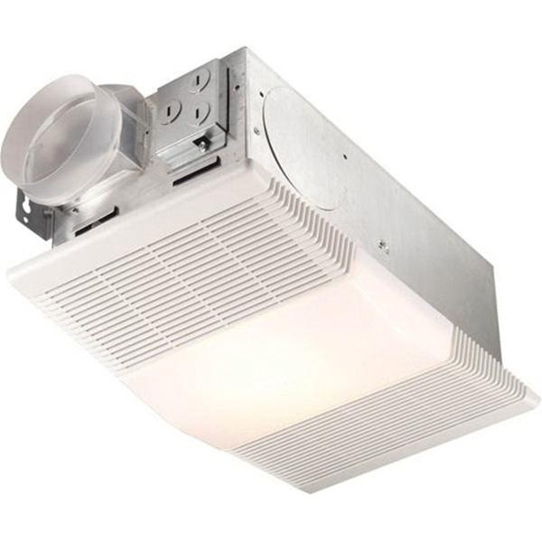 Nutone 665rp Bathroom Fan With Light And Heater 120 Volt 70 Cfm At
