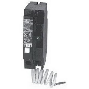 Siemens QF115 Plug-In Mount Type QPF Ground Fault Circuit Interrupter 1-Pole 15 Amp 120 Volt AC