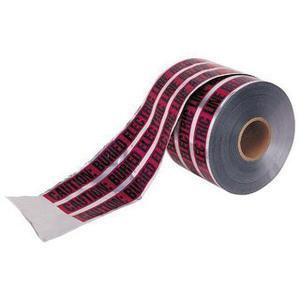 Ideal Industries 42-251 Detectable Underground Tape 6 Inch x 1000 ft x 5 mil Red