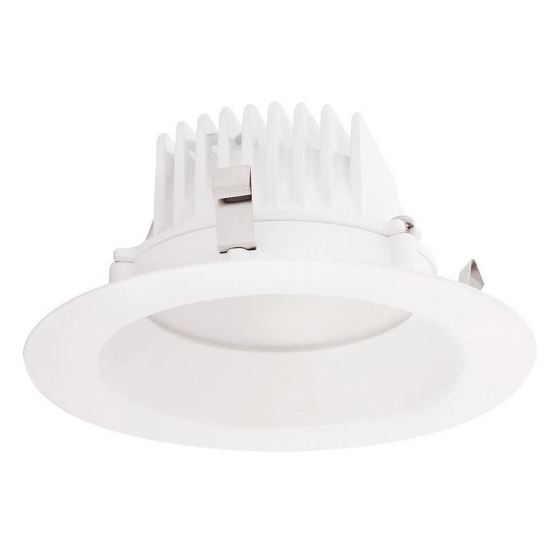 Rab DLED4R8YN 4 Inch LED Retrofit Down Light Fixture 120 Volt Round 8 Watt 85 CRI 3500K 535 Lumens White