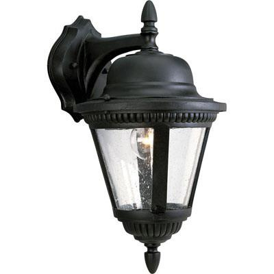 Progress Lighting P5863-31 1-Light Wall Lantern 100 Watt 120 Volt Textured Black Westport