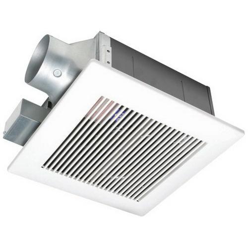 Panasonic FV-11VF2 Ventilation Fan 4 Inch Duct 110 CFM at 0.1 Inch Static Pressure With 4 Inch Duct 90 CFM at 0.1 Inch Static Pressure With 3 Inch Duct WhisperFit™