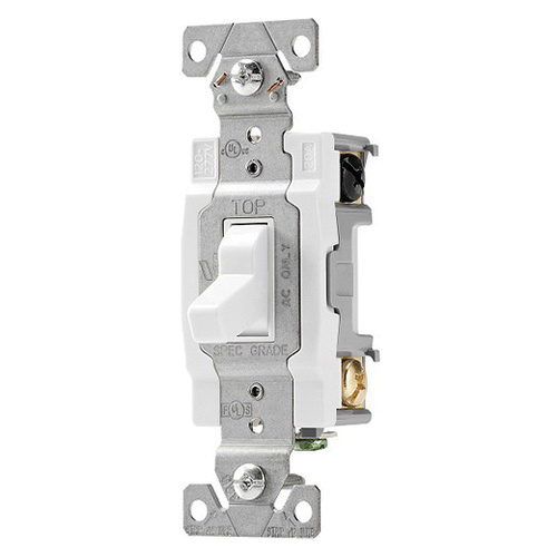 Cooper Wiring Device CS420W-BU 120/277-Volt AC 20-Amp 4-Way Commercial/Specification on